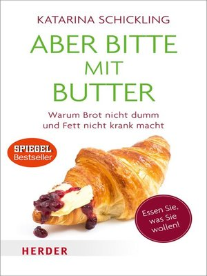 cover image of Aber bitte mit Butter