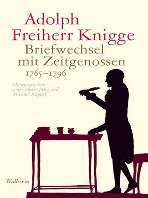 cover image of Briefwechsel mit Zeitgenossen 1765-1796