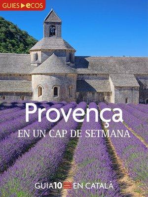 cover image of Provença. En un cap de setmana