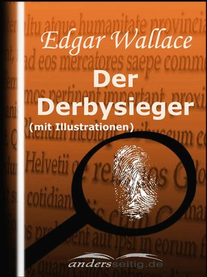 cover image of Der Derbysieger (mit Illustrationen)