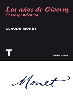cover image of Los años de Giverny