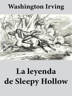 cover image of La leyenda de Sleepy Hollow