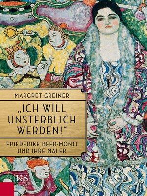 """cover image of """"Ich will unsterblich werden!"""""""