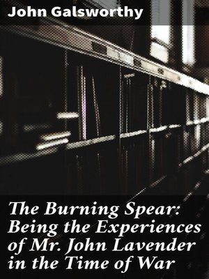 cover image of The Burning Spear