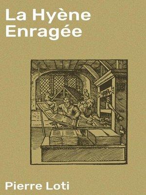 cover image of La Hyène Enragée