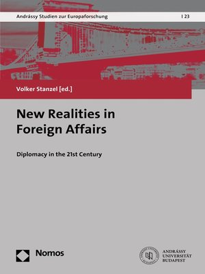 cover image of New Realities in Foreign Affairs