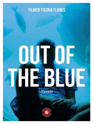 cover image of Out of the blue