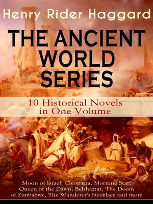 cover image of The Ancient World Series--10 Historical Novels in One Volume
