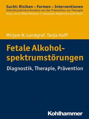 cover image of Fetale Alkoholspektrumstörungen