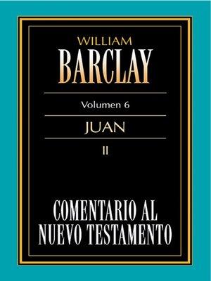 cover image of Comentario al Nuevo Testamento Volume 6
