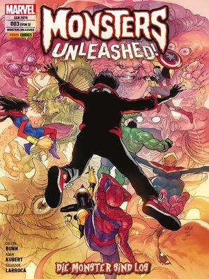 cover image of Monsters Unleashed 3 --Die Monster sind los