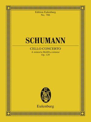 cover image of Cello Concerto