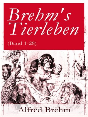 cover image of Brehm's Tierleben (Band 1-28)