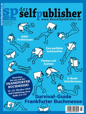 cover image of der selfpublisher 3, 3-2016, Heft 3, September 2016