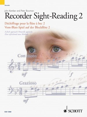 cover image of Recorder Sight-Reading 2