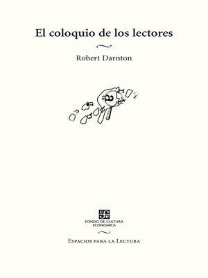 cover image of El coloquio de los lectores