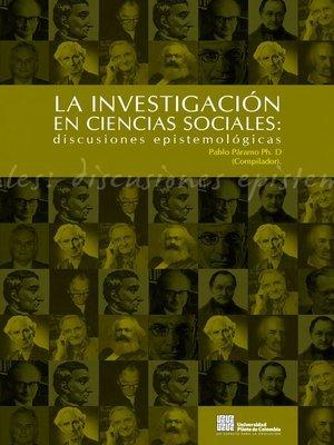 cover image of Discusiones Epistemológicas