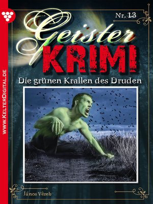 cover image of Geister-Krimi 13--Gruselroman