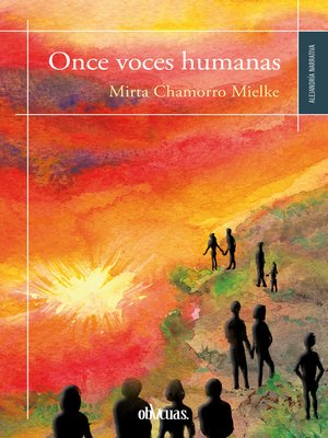 cover image of Once voces humanas