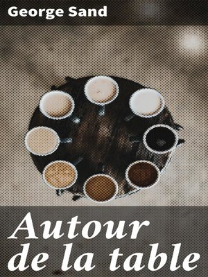 cover image of Autour de la table