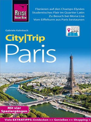 cover image of Reise Know-How CityTrip Paris