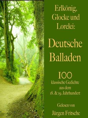 cover image of Erlkönig, Glocke und Lorelei