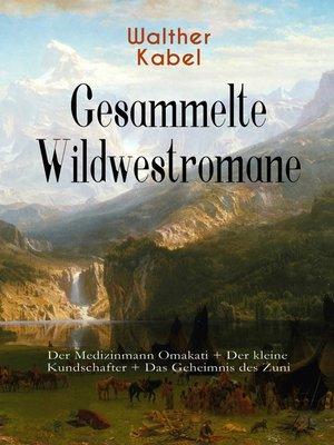 cover image of Gesammelte Wildwestromane