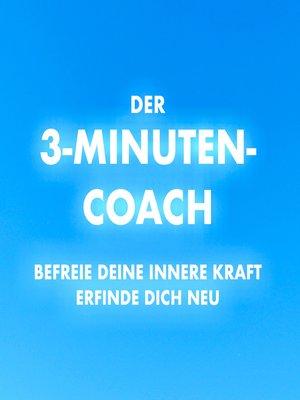 cover image of Der 3-Minuten-Coach