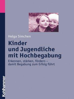 cover image of Kinder und Jugendliche mit Hochbegabung