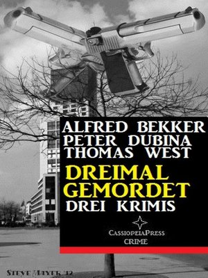 cover image of Dreimal gemordet