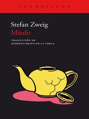 cover image of Miedo