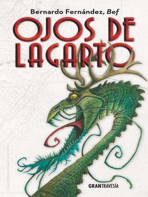 cover image of Ojos de lagarto