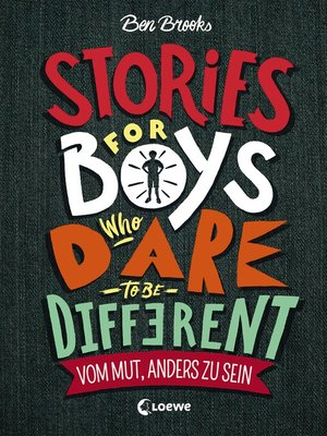 cover image of Stories for Boys who dare to be different--Vom Mut, anders zu sein