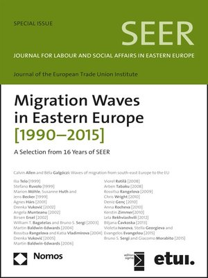 cover image of Migration Waves in Eastern Europe [1990-2015]