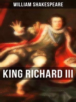 cover image of KING RICHARD III