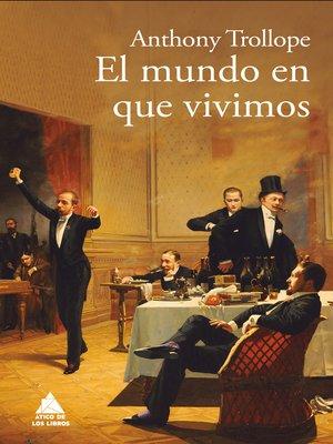 cover image of El mundo en que vivimos