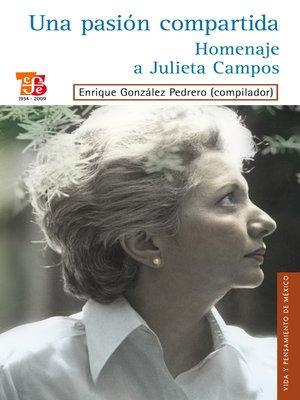 cover image of Una pasión compartida
