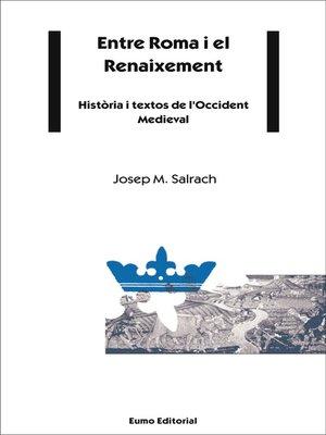 cover image of Entre Roma i el Renaixement