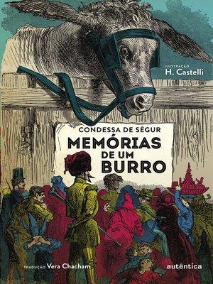cover image of Memórias de um burro