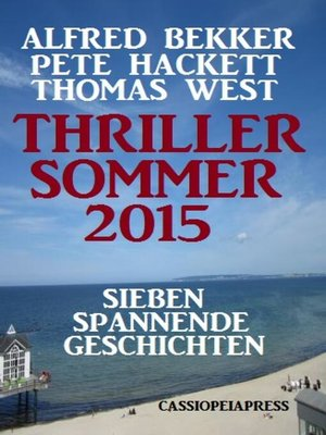 cover image of Thriller Sommer 2015