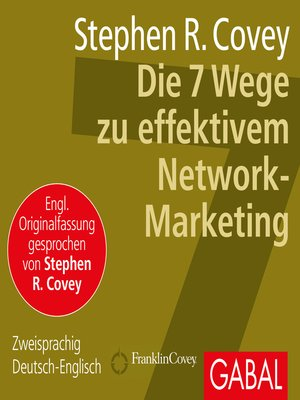 cover image of Die 7 Wege zu effektivem Network-Marketing