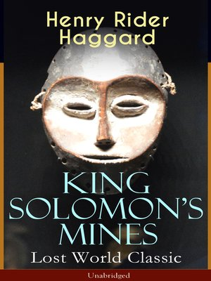 cover image of King Solomon's Mines (Lost World Classic)