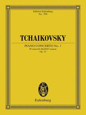 cover image of Piano Concerto No. 1 Bb minor