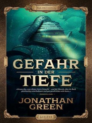 cover image of GEFAHR IN DER TIEFE
