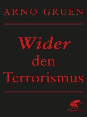 cover image of Wider den Terrorismus