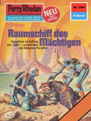 cover image of Perry Rhodan 884
