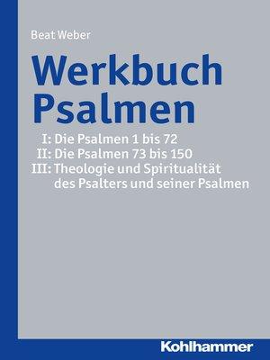 cover image of Werkbuch Psalmen I + II + III