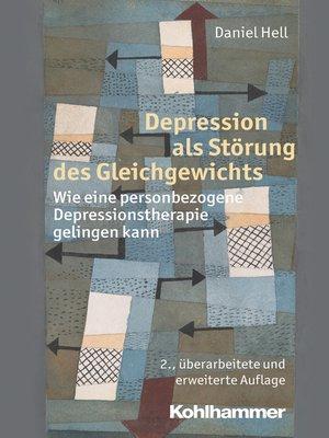 cover image of Depression als Störung des Gleichgewichts