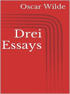 cover image of Drei Essays