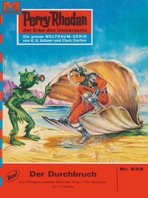 cover image of Perry Rhodan 533